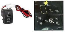 Iveco Stralis Eurocargo Cruscotto Doppia Porta USB Camion Caricabatterie Presa