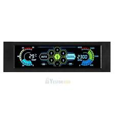5 Sets LCD Touch Screen Temperature Automatic PC Fan Speed Controller Display