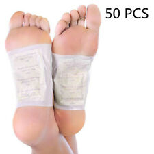 Premium Ginger Detox Foot Pads Patch Organic Herbal Cleansing Detox Pads 50 PCS