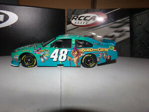 1/24 JIMMIE JOHNSON #48 LOWES MADAGASCAR 3 ELITE 1 OF150  2012  ACTION  READ