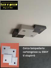 lampadario plafoniera in cartongesso led design moderno personalizzabile