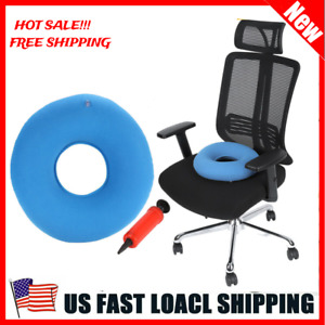 Butt Donut Seat Cushion Comfort Inflatable Ring Pillow For Hemorrhoids 4 Colors