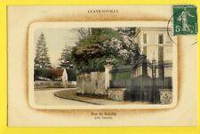 CPA Ecrite en 1913 CLAYE SOUILLY (Seine et Marne) Rue de Souilly