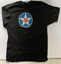 Eddie Vedder t-shirt 2019 tour large star logo u.s. europe new pearl jam