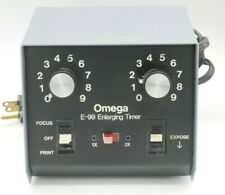 Omega E-99 Analog Darkroom Printing Enlarging Timer, Accurate