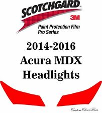 3M Scotchgard Paint Protection Film Clear Pro Series 2014 2015 2016 Acura MDX