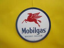 tin metal gasoline service station man cave advertising decor gas oil mobil
