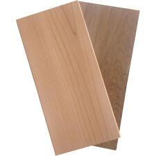 2xM GRILLFACTUM Zedernholz Western Red Cedar Planke räuchern 29x14x1,1cm Brett