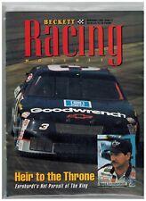 DALE EARNHARDT RACING BECKETT ISSUE # 1 SEPTEMBER 1994  2018 SALE NASCAR