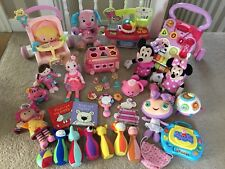 ❤️HUGE PINK Baby Toddler Girls Toys Bundle - V-Tech Fisher Price Lamaze Peppa ❤️