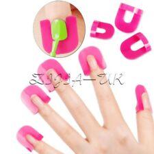 26 Pcs 10 Sizes Nail Polish Glue Model Spill Proof Professional Manicure Tools