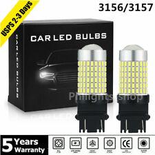 2x 144SMD 3156 3157 LED Lights Reverse Backup Signal Bulb 6000K For Chevrolet