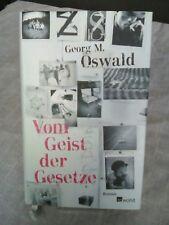 Vom Geist der Gesetze von Georg Oswald (2007, Gebunden)