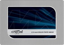 Used Crucial MX200 500GB SSD Solid State Drive 2.5 CT500MX200SSD1 SATA III 6Gb/s
