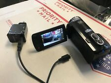 Samsung HMX-F80 Camcorder 720p HD Recording 52x Optical Zoom 5MP Video Cam C5