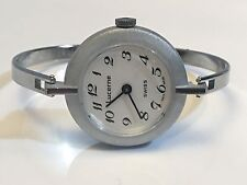 Lucerne Swiss Vintage Ladies Mechanical Windup Bangle Watch(NOLS-009)