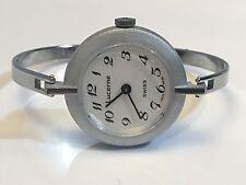 Lucerne Swiss Vintage Ladies Mechanical Windup Bangle Watch(NOLS-07)
