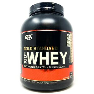 Optimum Nutrition ON Gold Standard Whey 5LB 100% Whey Protein Powder Exp.3/2021
