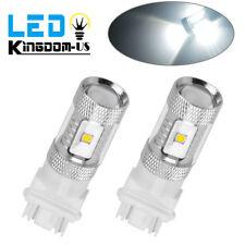 2 X 6000K White 3157 High Power LED Daytime Running RV Trailer LED Light Bulbs