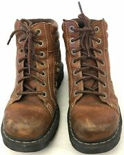 Dr. Martens Brown Lace-Up Gaddis Boots Size 10