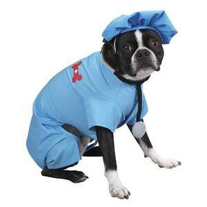 Dog Costume Clothes Clothing Shirt Halloween ER DOCTOR
