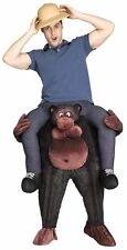 Carry Me on Your Shoulders Gorilla Costume Piggy Back Ride Adult Funny Animal