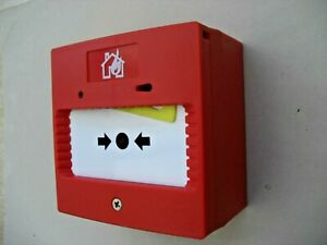 £36 Wireless Battery Fire Alarm - Call Point with a Siren / Howler - no drilling