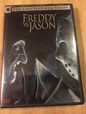 Freddy vs. Jason (Dvd + Insert 2004 Platinum Series) Action Horror Oop