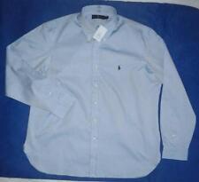 Ralph Lauren Patternless Button Cuff Formal Shirts for Men