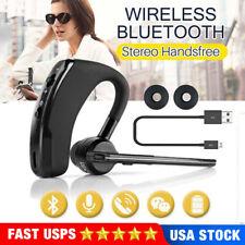 Handsfree Wireless Earphone Business Stereo Headset+Mic Noise Cancel Headset Usa
