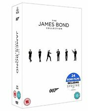 Bond 50 James Bond 007 Complete Collection DVD Box Set Film 1 - 24 inc Spectre