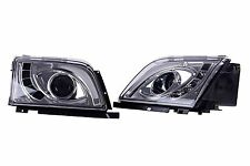 DHL - New for Mercedes R129 SL300 300SL 1990-1993 Head Lamp Light (LHD) - Chrome