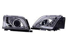 DHL - New for Mercedes R129 SL300 300SL 1990-1993 Head Lamp Light (LHD) - Chrome