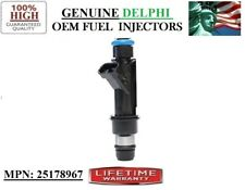 2001-2002 Saturn SL2 1.9L I4 / Single Refurb Fuel Injector OEM Delphi P#25178967
