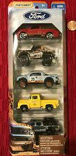 Matchbox Ford Trucks Series 5-pack SVT Lightning Bronco Gulf Raptor Mooneyes
