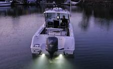 Underwater LED Lights For Boats Cool White 12 Volt Waterproof Surface Mount New
