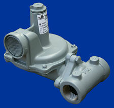 "Natural Gas Regulator, Sensus 496-20, 1/2""npt"