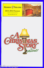 Playbill + A Christmas Story The Musical + Pre Broadway + Rachel Bay Jones