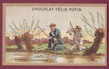 Chromo CHOCOLAT FELIX POTIN  230613 - pêche à l'écrevisse (aux balances)
