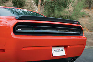 Fits 08-14 Dodge Challenger GTS Acrylic Taillight Center Panel Covers Smoke 3pc