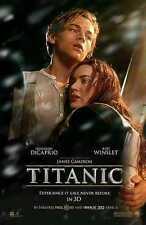 Titanic 3D 27x40 DS MOVIE POSTER