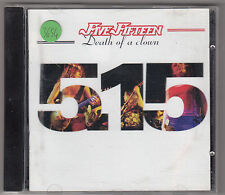 FIVE FIFTEEN - death of a clown CD