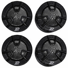 2 New Pairs Power Acoustik NB-4 500 Watt Car Tweeters