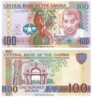 Gambia 100 Dalasis ND 2013 P-29b Banknotes UNC