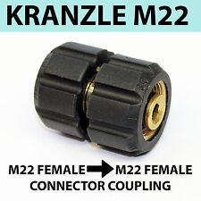 Kranzle M22 Filettatura Accoppiamento Donna IDROPULITRICE PULITORE Adattatore 22mm