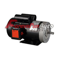 2 HP ELECTRIC MOTOR 56C SINGLE PHASE TEFC 115/230 Volt 3450 RPM New