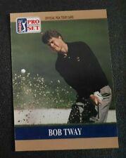 New listing 1990 PRO SET GOLF CARD PROTOTYPE BOB TWAY