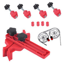 Car Auto Dual Cam Clamp Camshaft Engine Timing Sprocket Caps Gear Locking Tools