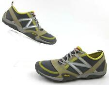 New Balance Minimus Running Trail Shoes Gray Tan Yellow Vibram Soles US 9B