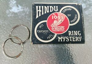 ANTIQUE~The 1933 Chicago World's Fair~A Century of Progress~Hindu RING MYSTERY ❤